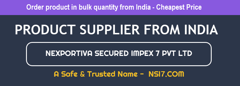 product supplier from india